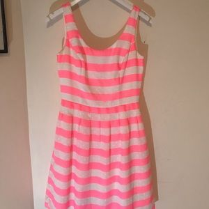 Pink & White Lilly Pulitzer Dress